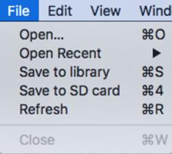 VBVS Mac Menu bar File.png